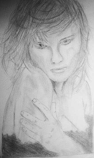 Kirsten Dunst by Benji